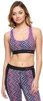 Juicy Couture Sporty Printed Racerback Bra