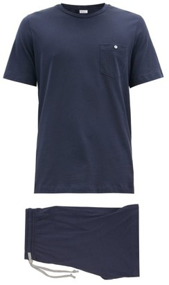 Schiesser Josef Cotton-jersey Short Pyjamas - Multi