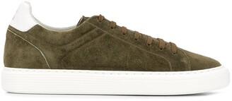 Brunello Cucinelli Low Top Round Toe Sneakers