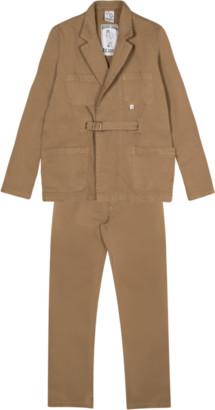 Bonne Suits - Khaki De Rrusie Suit - S | khaki - Khaki
