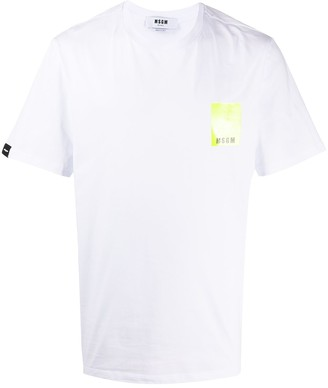 MSGM logo-print relaxed-fit T-shirt