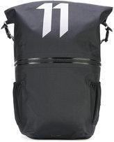 11 By Boris Bidjan Saberi large logo print backpack