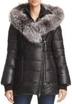 Mackage Elizabeth Fox Fur Trim Down Coat - 100% Exclusive