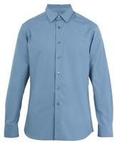 Prada Single-cuff Cotton-poplin Shirt