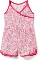 Old Navy Cross-Front Jersey Romper for Baby