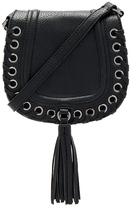 BCBGeneration Grommet Saddle Bag