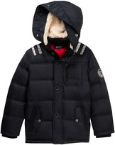 Diesel Faux Shearling Bubble Jacket (Big Boys)