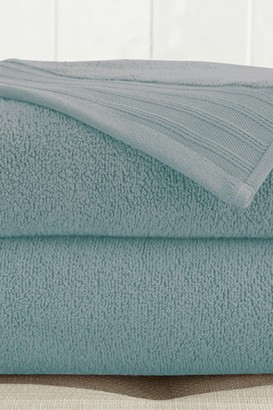 Oversized Quick Dry Bath Sheets - Set of 2 - Soft Blue