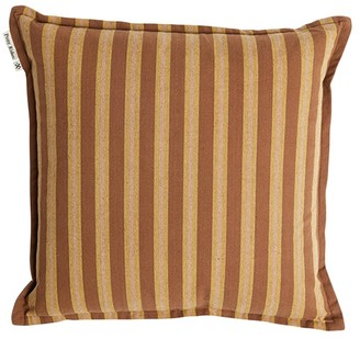 Rusty Desert Safari Stripe Cushion Cover