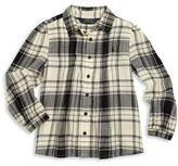 Ralph Lauren Little Girl's Pintuck Plaid Shirt