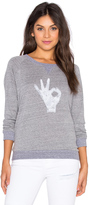 Nation Ltd. OK Raglan Sweatshirt