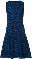 Derek Lam geometric print flared dress