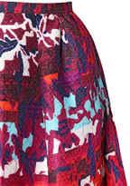 Peter Pilotto Long Emma Waffle Silk Skirt