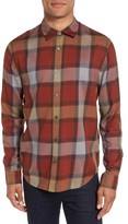 Vince Men's Regular Fit Plaid Sport Shirt