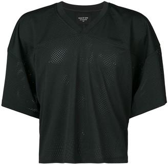 Fear Of God cropped v-neck Manuel T-shirt