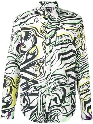 Just Cavalli abstract print shirt