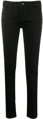 Emporio Armani Low Rise Skinny Jeans