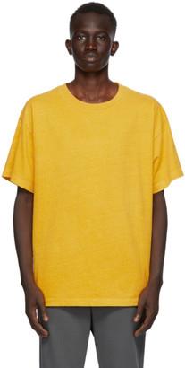 John Elliott Yellow University T-Shirt