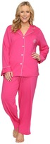 Lauren Ralph Lauren Plus Size Classic Notch Collar Pajama