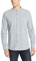 AG Adriano Goldschmied Men's Coast Woven Button Down Shirt