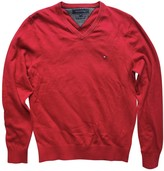 Tommy Hilfiger Red Cotton Knitwear for Women