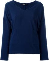 Steffen Schraut V-neck blouse - women - Polyester - 34