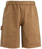 Linen Cotton Angus Shorts In Clay