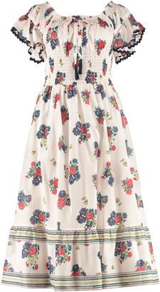 Tory Burch Meadow Folly Patterned Cotton Dress