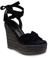 KENDALL + KYLIE Grayce Suede Espadrille Platform Sandals