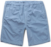 Albam - Garment-dyed Cotton-canvas Shorts