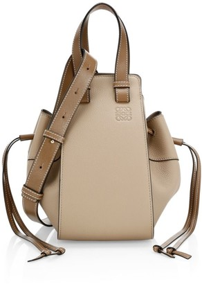 Loewe Small Hammock Drawstring Leather Bag
