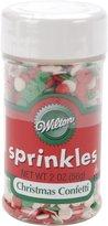 Wilton Sprinkles 2.5Oz-Christmas Confetti