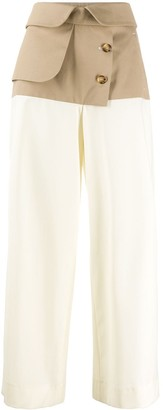 Each X Other Hybrid trench palazzo pants