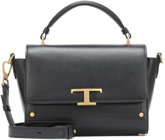 Tod's Timeless T small leather tote
