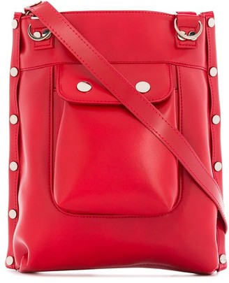 Junya Watanabe Studded Faux Leather Crossbody Bag