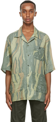 Nicholas Daley Green Aloha Short Sleeve Shirt
