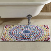 Asstd National Brand Better Trends Picasso Mosaic Bath Rug Collection