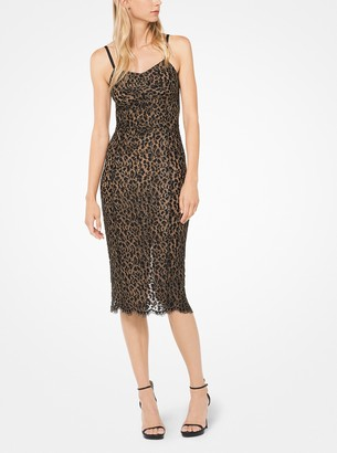 Michael Kors Corded Lace Slip Dress