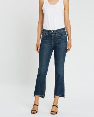 Rag & Bone 10 Inch Stove Pipe Jeans