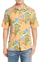 Tommy Bahama Men's Big & Tall Adriatic Garden Silk Blend Camp Shirt