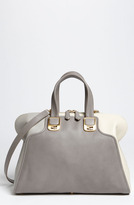 'Chameleon Colorblock' Leather Tote