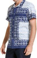 Sportscraft Short Sleeve Tapered James Shirt