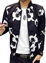 CFD Mens Fashion Printed Baseball Bomber Jacket M