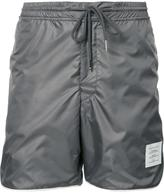 Thom Browne drawstring track shorts - men - Polyester - 4