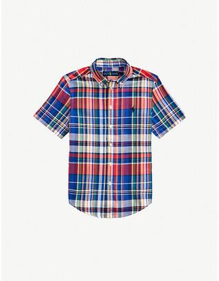 Ralph Lauren Checked cotton shirt 2-14 years