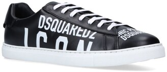 DSQUARED2 Leather Icon Sneakers