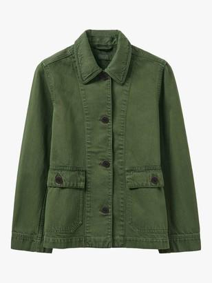 Toast Patch Pocket Denim Jacket, Green