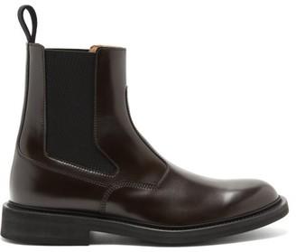 Bottega Veneta Leather Chelsea Boots - Brown