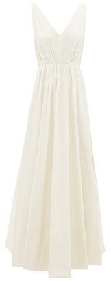 Roksanda Ravena Sequinned Taffeta Gown - Ivory