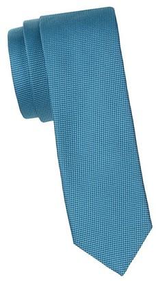 HUGO BOSS Neat Pattern Silk Tie